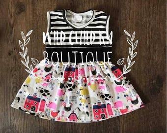 Barnyard tunic dress