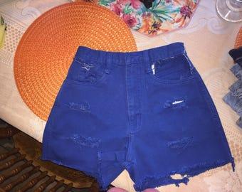 Rio Cut Jean Shorts