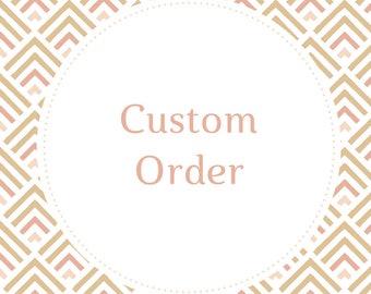 Custom Handlettering Order