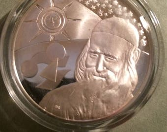 Democritius - Sterling Silver collection of The History of Science (Proof)