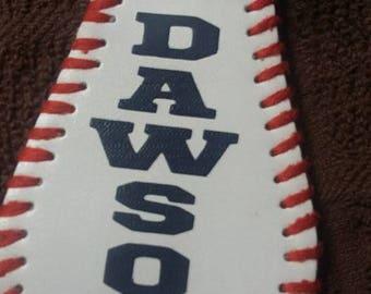 Baseball Key Chain Customized