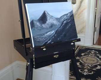 "Original Acrylic Painting ""The Last Mountain"""