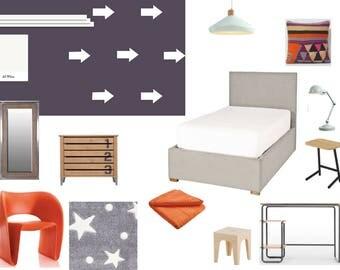 Online E Design Service Childs Bedroom Design Virtual Interior Design E