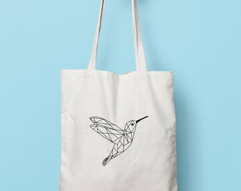 Geometric hummingbird bag (duplex)