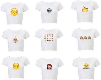 Emoji Mood Shirts