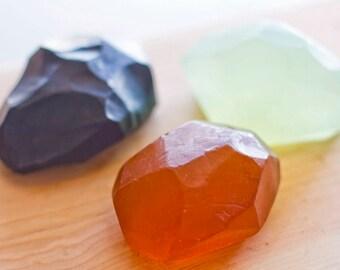 Citrine Gemstone Soap