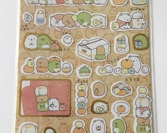 Cute Molang Rabbit Diary Stickers Decoration Stationery Label Sticker - Design 1