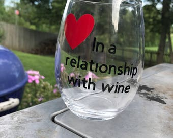 In A relationship with Wine