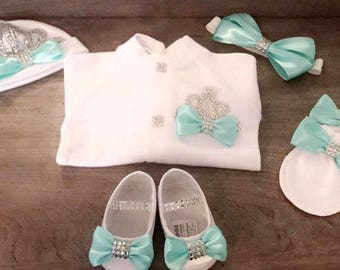 Crown Jewels Newborn Homecoming Outfit