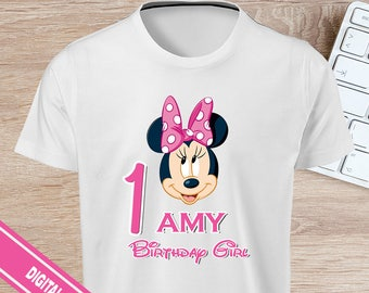 Minnie Mouse Iron On - Minnie Mouse T-shirt Transfer