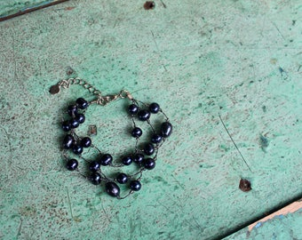 RoyRak 'Maay' Bracelet, Midnight Blue