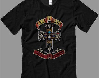 Guns and Roses Appetite for Destruction T Shirt T Shirt-Tanks-Sweatshirts-Hoodies-Youth-Womens-Mens- sizes up to 5XL