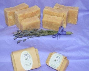 All Natural Goat Milk Based Lavender Soap