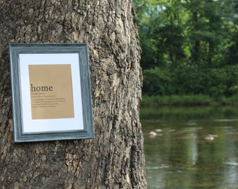 Home definition - Digital Download Print