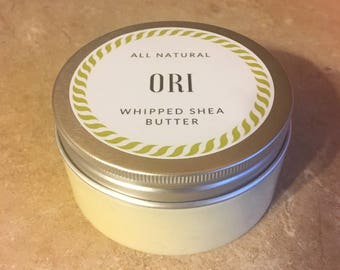 All Natural Ori Whipped Shea Butter