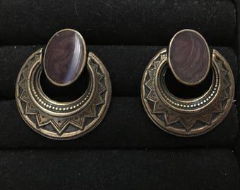 Art Deco dangle earring
