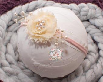Newborn Floral Tieback