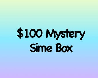 Mystery Slime Box TONS of slime