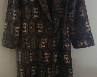 Sale Vintage Luxury Burberrys pajamas, sleepwear, kimono robes