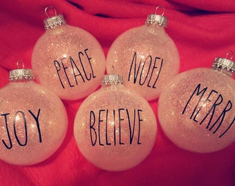 Ray Dunn Inspired Ornaments