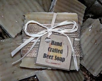 Hand Crafted Beer Soap