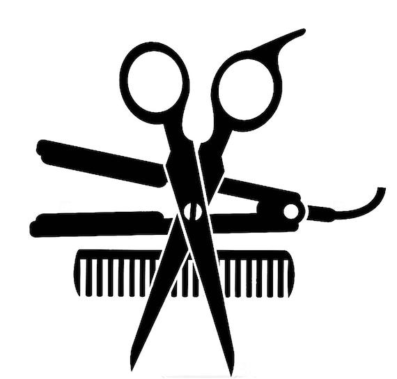Salon Beauty Dryer Accessories Hair Shop Scissors