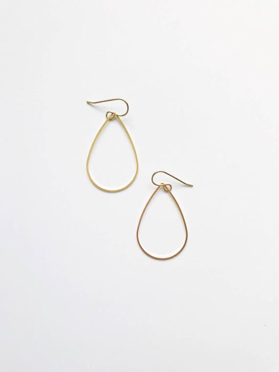 Simple Teardrop Earring