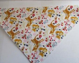 Woodland fantasies   Dog bandana