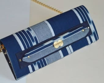 Sac Lalafuê bleu marine et blanc