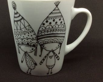 Mug Cup sweetie pie dance