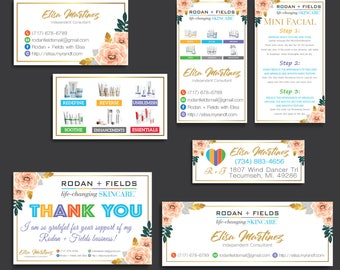 Rodan and Fields Cards Starter Kit, Rodan and Fields Marketing Kit, Rodan + Fields Marketing Bundle, R and F Marketing Package, Digital RF11