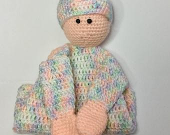 Crochet 'Baby' Baby Lovey