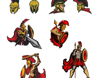 Spartan Svg/Eps/Png/Jpg/Cliparts,Printable, Silhouette and Cricut File !!!