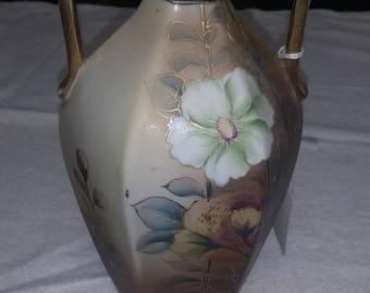 vintage hand painted Nippon vase