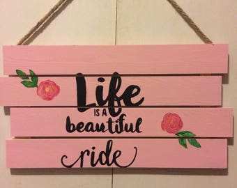 Inspirational Sign - Wall hanging