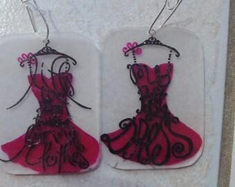 dress fashion earring