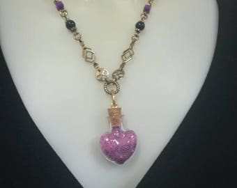 Heart themed necklace