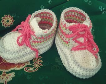 shoe style basket made of organic cotton