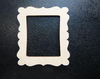 mini cadre médium brut à décorer