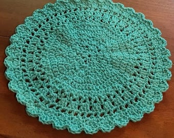 Sale!  Crochet Cotton Placemats, Buy as Many as You Need!