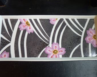 flat rectangular long porcelain