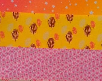 Paper origami - neon fantasy - 10 x 10 cm - 5 sheets (1)