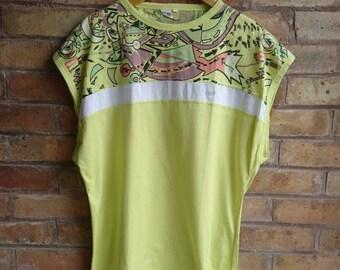 Vintage lime mens t-shirt