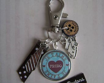 "Key ring for men ""Brother"""