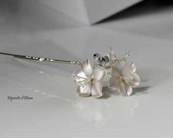 Flower bridal accessoire