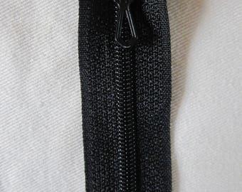 Black 20 cm not separable ZIPPER PRESTIL zipper