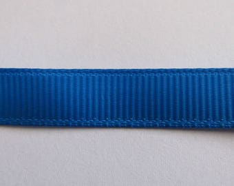 Ribbon grosgrain Blue 10mm wide
