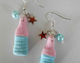 Sour candy earring