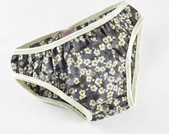 Panties girl Liberty Mitsi dark grey from 2 to 10 years