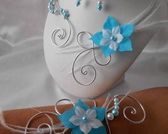 Wedding Austria 2 piece necklace & bracelet set